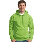 Gildan Cotton/Poly Hooded Sweatshirt
