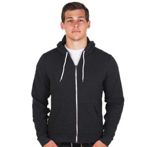 American Apparel Unisex Flex Fleece Zip Hoody Thumbnail