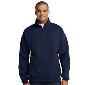 Jerzees 1/4 Zip Collar Sweatshirt Thumbnail