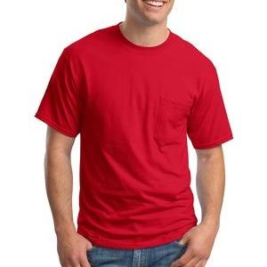 Beefy T ® 100% Cotton T Shirt with Pocket Thumbnail
