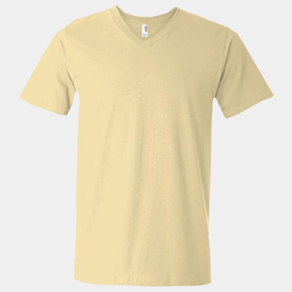 83deecdb25485e Next Level Men's Premium Sueded V shirt Tee Rabbit Screen Printing
