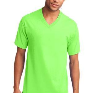 100% Cotton V Neck T Shirt 5.4 oz  Thumbnail