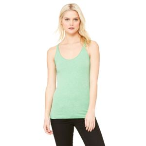 Bella Ladies' Triblend Racerback Tank Thumbnail