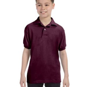 Youth 5.2 oz., 50/50 ComfortBlend® EcoSmart® Jersey Knit Polo Thumbnail