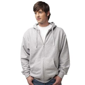 Independent Trading Co Midweight Full-Zip Hooded Sweatshirt Thumbnail