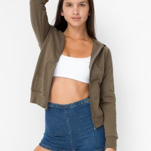 American Apparel California Fleece Zip Hoody Thumbnail