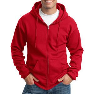 Port & Company Classic Full Zip Hooded Sweatshirt Thumbnail