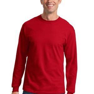 Port & Company Long Sleeve 5.4 oz. 100% Cotton T Shirt Thumbnail