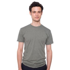 American Apparel cotton/poly short sleeve crew neck Thumbnail