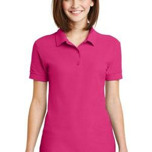 Gildan Ladies Double Pique Cotton Polo Thumbnail