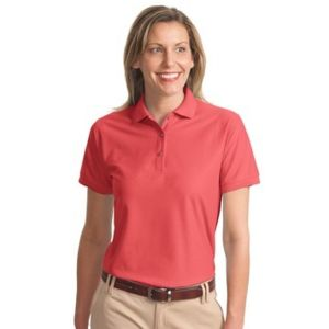 Port Authority Ladies Silk Touch Polo Thumbnail