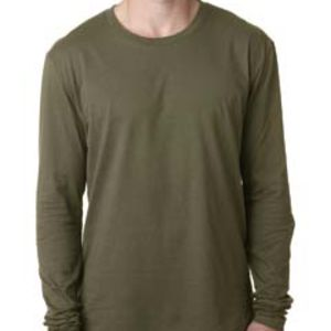 Men's Cotton Long-Sleeve Crew Thumbnail