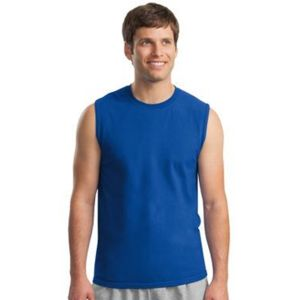 Gildan Cotton Sleeveless T Shirt Thumbnail