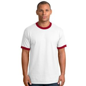 Gildan Ultra Cotton Ringer T Shirt Thumbnail