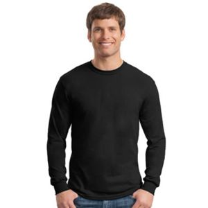 Gildan Heavy Cotton 100% Cotton Long Sleeve T Shirt 5.3 oz Thumbnail