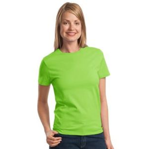 P&C Ladies Cotton T Shirt 6.1 oz Thumbnail