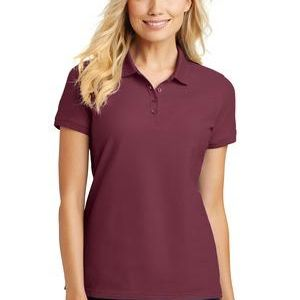 Port Authority Ladies Pique Polo Thumbnail