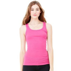 Bella Canvas Ladies' Sheer Mini Rib Tank Thumbnail