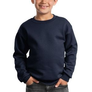 Port & Company Youth Core Fleece Crewneck Sweatshirt Thumbnail