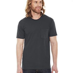 Unisex Fine Jersey Pocket Short-Sleeve T-Shirt Thumbnail