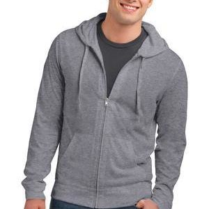 District Young Mens Jersey Full Zip Hoodie Thumbnail