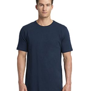 Next Level Men's Cotton Long Body Crew Thumbnail
